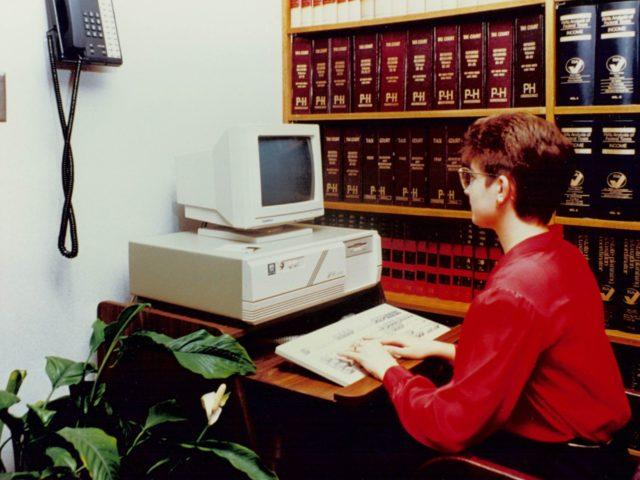 First PC Computer put in service. Pete Bergman and Mike Finnegan admitted as partners<br><br><br><br>