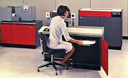IBM System 1130 computer installed<br><br><br>